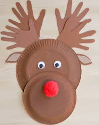 Preschool Holidays Seasons Activities Make A Paper Plate Reindeer