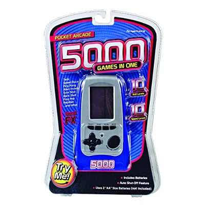 Westminster 5000 Games In One Pocket Arcade - Blue