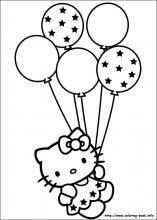 Click Here To Download FREE Hello Kitty Colouring Pages Makes A Great Party Activity