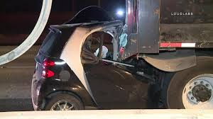 Smart Car Crashes Into Back Of Dump Truck - NBC Southern California Smart Car Glorified Truck Battery Youtube 2013 Electric Smtcar Drneon 1999 Fortwo Specs Photos Modification Info At Cardomain Dtown Austin Texas Not A Food But A Food Smart Car Repairs North West Mechanics Lift Kit For Fortwo Forums Memoirs Of Conservative In My Nonvegan High Speed Jet Powered Yes Jet Powered Sew Ez Quilting Vs Our Truck 2017 Smtcar Hydroplane Wreck