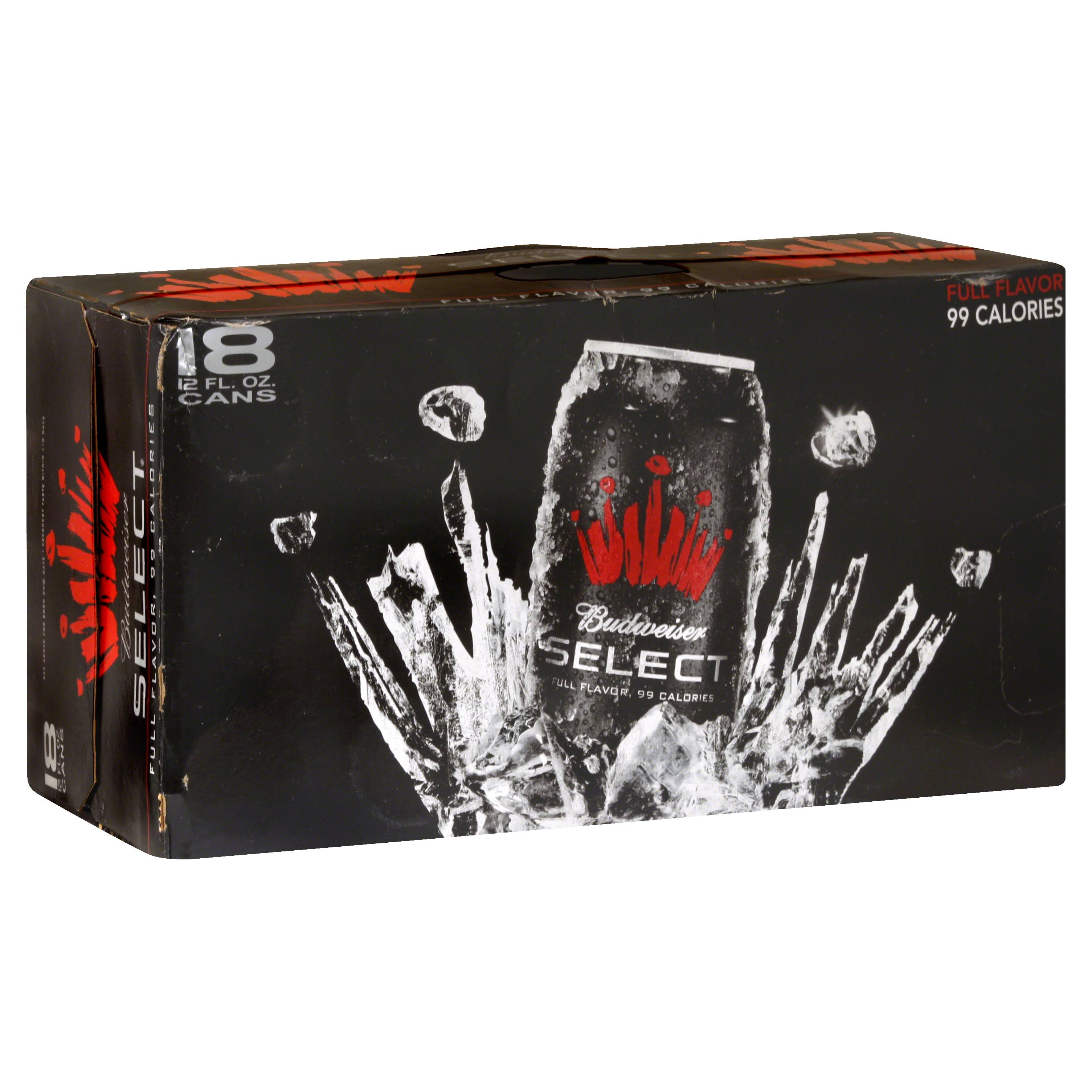 Select Beer - 18 pack, 12 fl oz cans