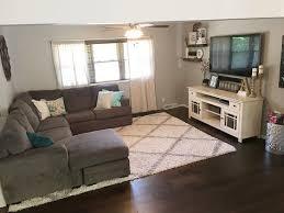 Farmhouse Decor Style Living Room Split Level Open