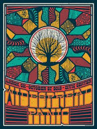 Widespread Panic Halloween 2015 by Jeff Wood Widespread Panic Poster Sale Details Poster