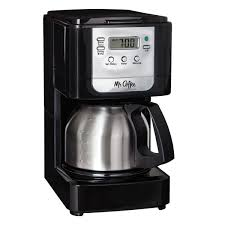 Mr CoffeeR Advanced Brew 5 Cup Programmable Coffee Maker With Stainless Steel Carafe