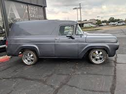100 Ford Panel Truck For Sale 1959 F100 For Sale 2184291 Hemmings Motor News