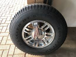 Hummer Rims With Tyres 265/75/16
