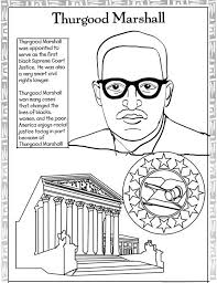 Every Month Is Black History Coloring Pages Maya Angelou And Thurgood