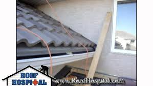 concrete and clay tile roofing installation