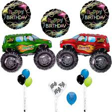 100 Truck Birthday Party Supplies Amazoncom Balloons Monster