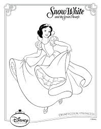 Coloring Pages Printable Disney Print Cool