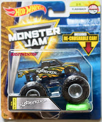 100 Hot Wheels Monster Jam Trucks List 2018 Flashback Includes Re Crushable Car