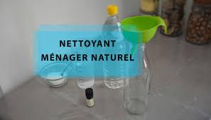 diy nettoyant naturel au vinaigre blanc et au bicarbonate de soude
