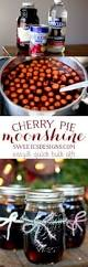 Cooked Pumpkin Pie Moonshine by Cherry Pie Moonshine Sweet C U0027s Designs