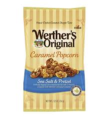 Chicago Faucet Shoppe Free Shipping by Amazon Com Werther U0027s Original Sea Salt Caramel Popcorn U0026 Pretzel