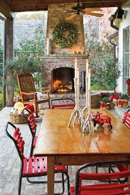 Backyard Patio Decorating Ideas by 100 Fresh Christmas Decorating Ideas Southern Living