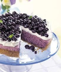 No Bake Blueberry Cheesecake with Graham Cracker Crust recipe