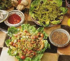 cuisine du maroc salade de poivrons et tomates