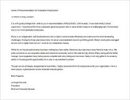 Letter Re mendation Example 8 Letters Re mendation For