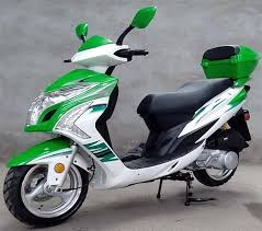 Assembled ROKETA 150cc Gas Scooter Fully Automatic With 13 Big