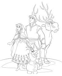 Coloring Pages Frozen 21 Page Coloringbookfun Print