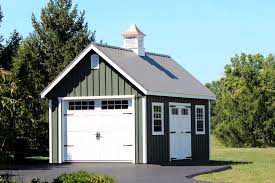 Amish Mikes Sheds by New England Sheds Garages Large Storage Single Car Garages
