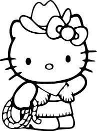 Lots Of Printable Hello Kitty Coloring Sheets Pages Online