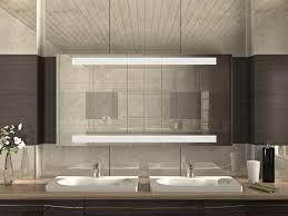 spiegelschrank mit led licht futur