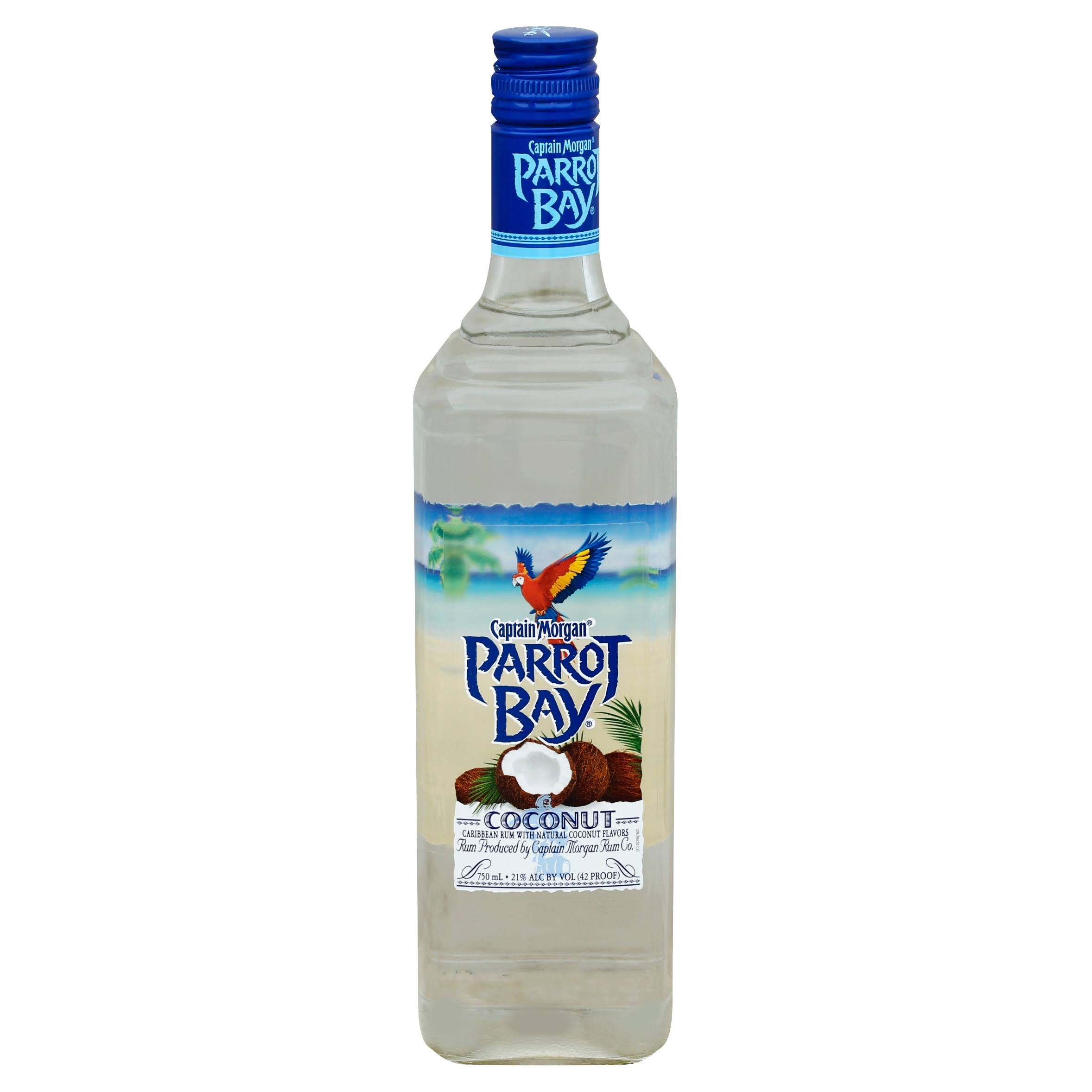 Parrot Bay Rum, Coconut - 750 ml