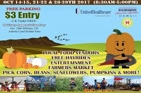 Aloun Farms Pumpkin Patch Address halloween events in hawaii pumpkin patches to late night parties