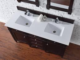 48 Inch Double Sink Vanity by Contemporary 60 Inch Double Sink Bathroom Vanity Mahogany Finish