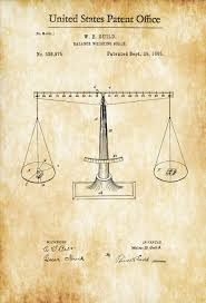 Sailboat Wheel Wall Decor by Scales Of Justice Patent Print Decor Law Firm Decor Lawyer