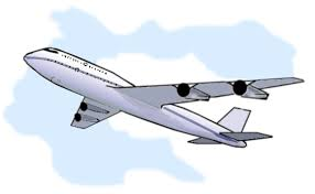 Airplane Travel Clip Art