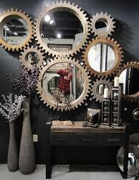 Diy Industrial Bathroom Mirror by Best 25 Mirror Wall Art Ideas On Pinterest Mosaic Art Cd