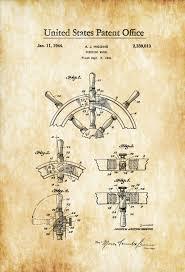 Sailboat Wheel Wall Decor by Nautical Decor Archives Mypatentprints
