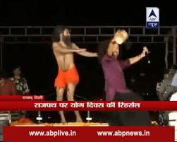 Baba Ramdev Shows Us How To Yoga
