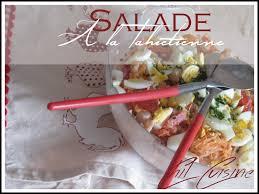 cuisine tahitienne salade de poisson à la tahitienne cuisine d ici et d ailleurs