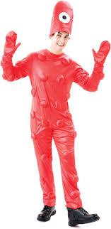 100 Fire Truck Halloween Costume Deluxe Yo Gabba Gabba Muno Adult Size Large Walmartcom