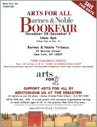 Barnes and Noble Book Fair Arts For All