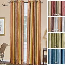 Green Striped Curtain Panels by Curtains U2013 Green U2013 Interior Decorating Deals