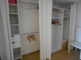 rideaux pour placard de chambre chambre rideau pour dressing placard avec rideau for pour dressing