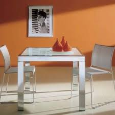 Dining Room Chairs For Glass Table by Modern Glass Dining Kitchen Tables Allmodern