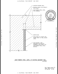 100 Griffin Ibeam PowerSpan IBeam Steel Lintel At Existing Wall