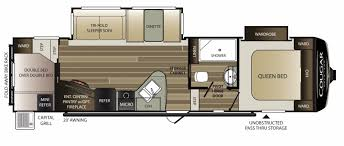 Fifth Wheel Bunkhouse Floor Plans by New Or Used Fifth Wheel Campers For Sale Rvs Near Houghton Lake