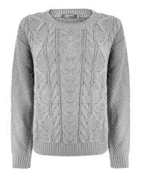 cable knit womens jumper crochet and knit