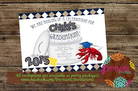 Pinterest Crawfish Boil Decorations by Crawfish Boil Graduation Party Invitation End Of The