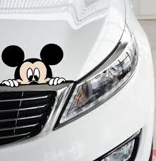 ᗛAliauto Funny Car Sticker Cute Mickey Mouse Peeping Cover ... Got This Truck For My Wife Funny Bumper Sticker Vinyl Decal Diesel Custom Stickers Maker Vistaprint 2018 15103cm Cute Ladybug Car Motorcycle Ideas Diesel Stickers Ebay Window Decals For Cars Harga Produk 185m I Love Boss Window Joke Malaysia Dog Paw Print Suv Aliexpresscom Buy The Shocker Jdm Newest 3d Eyes Peeking Hoods Trunk Thriller New Design 22x19cm Do Not Touch My Car Decorative Aliauto Mickey Mouse Peeping Cover Graphic Decals Amazoncom