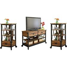 Better Homes And Gardens Rustic Country 3 Piece Entertainment Center For TVs Up To 52