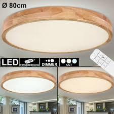 led decken leuchte holz optik wohnzimmer küchen le