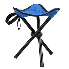 100 Folding Chair With Carrying Case Large Slacker Portable Tripod Stool Stool With