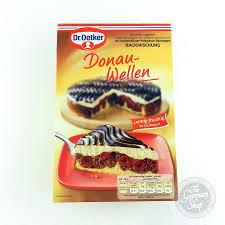 dr oetker donauwellen backmischung marble cherry cake mix
